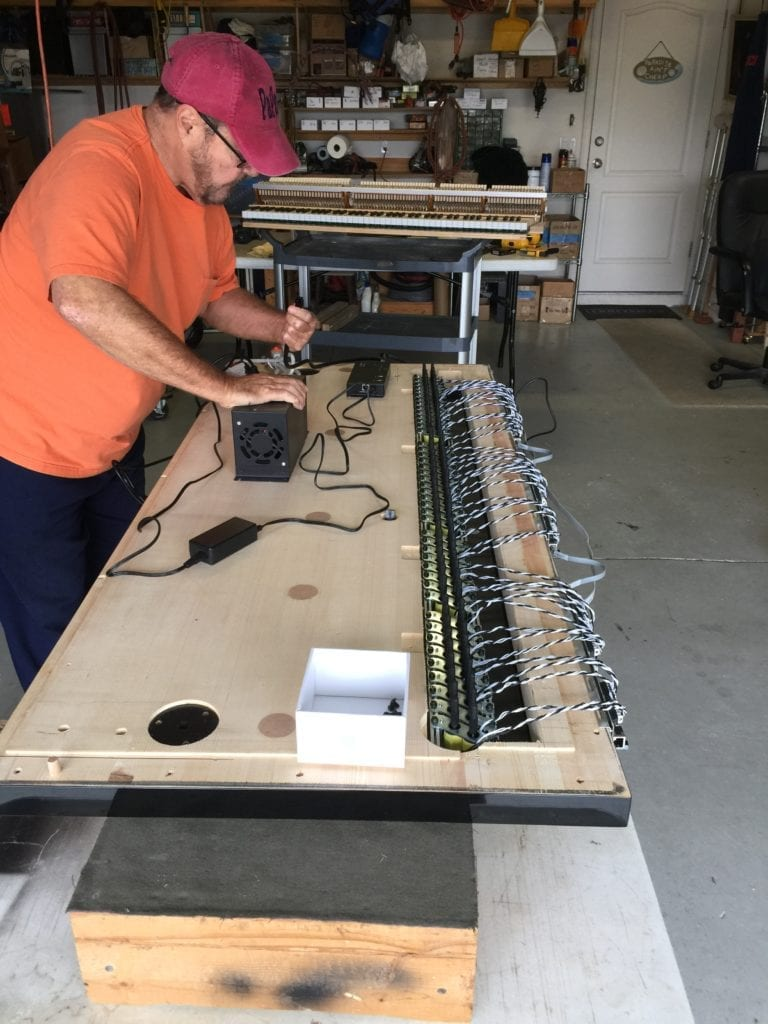 Installing A Player System To The Piano