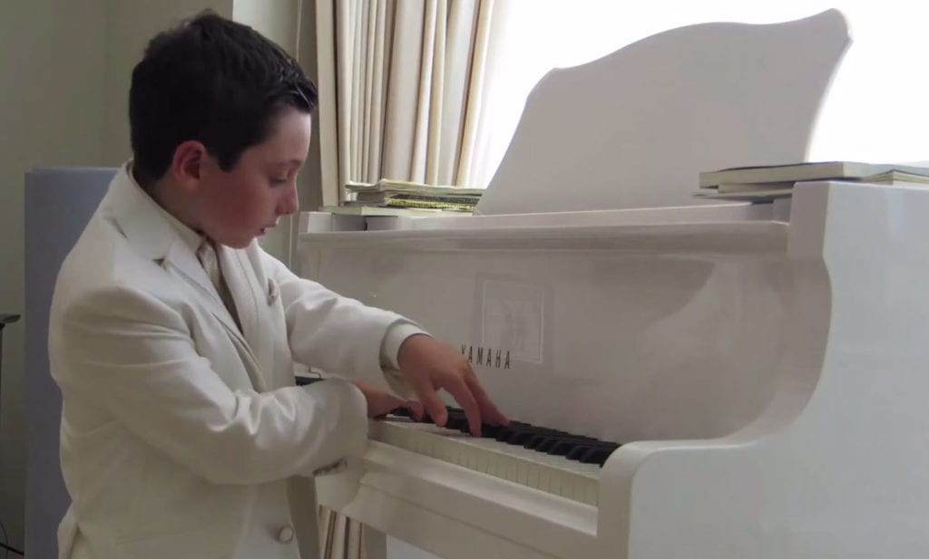 London's youngest Pianist and Musical Graduate