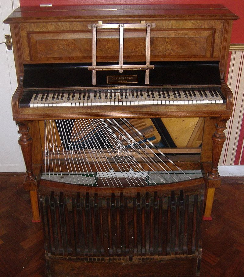 The Evolution of Pianos