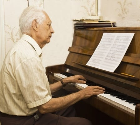 Piano Can Help Reduce Falls