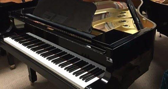 Yamaha disklavier player grand piano one owner non for Yamaha disklavier grand piano