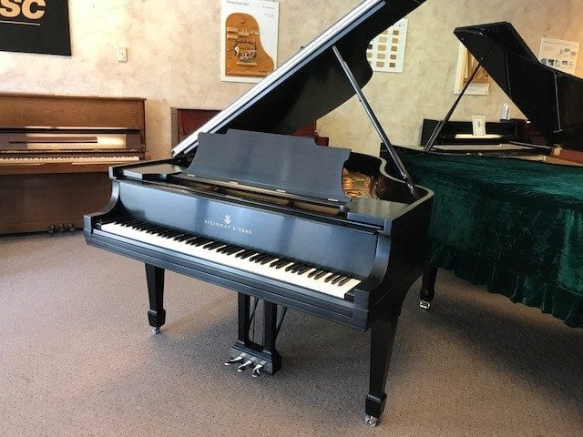 Steinway & Sons Grand Piano | Model M - Completely Restored Using 100% Steinway Parts!