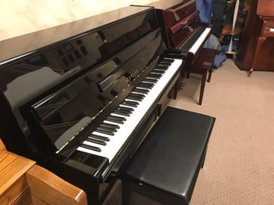 This Yamaha console piano is in absolutely immaculate condition