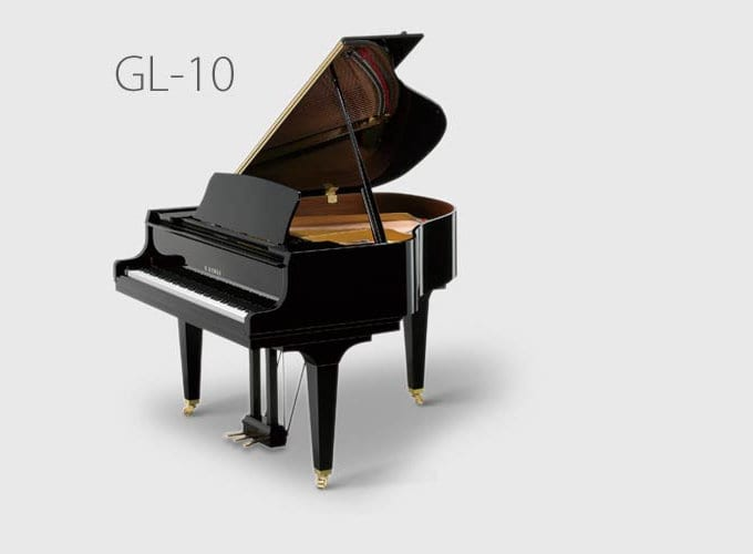Gl 10 baby grand piano dave 39 s piano showroom for Baby grand piano height