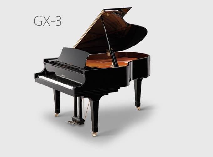 GX-3 Blak Conservatory Grand Piano