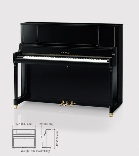 K-400 Upright Pianos