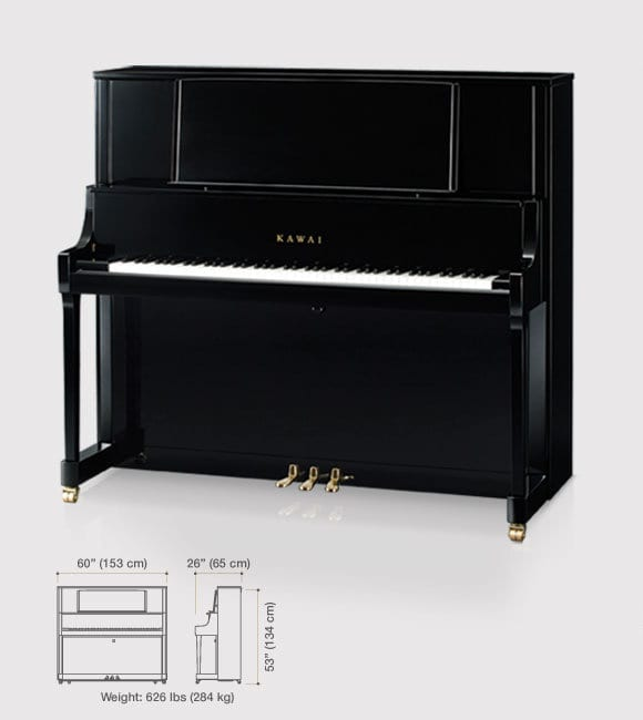 K-800 Upright Pianos