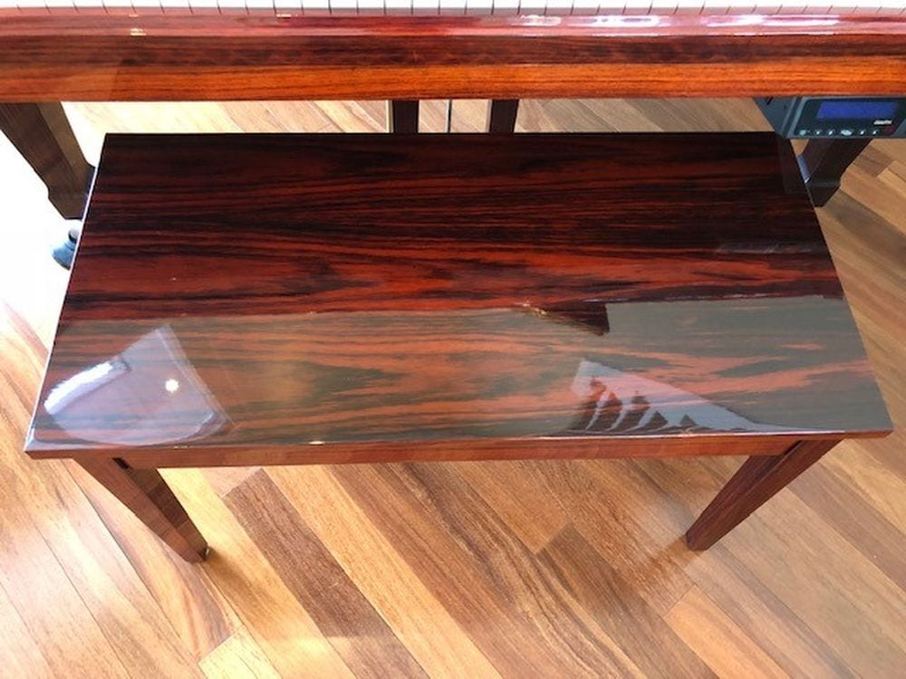 Kawai rosewood GX-2 with a PianoDisc system