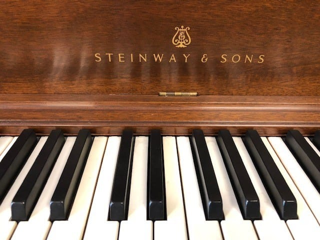 STEINWAY & SONS Vertical Piano - $2,500