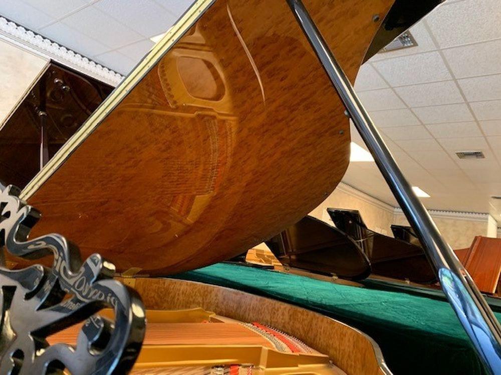 Super Ornate Baby Grand Piano