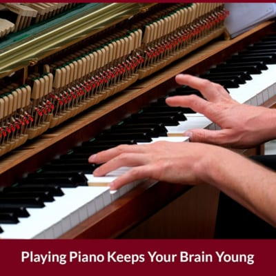 Playing Piano Keeps Your Brain Young