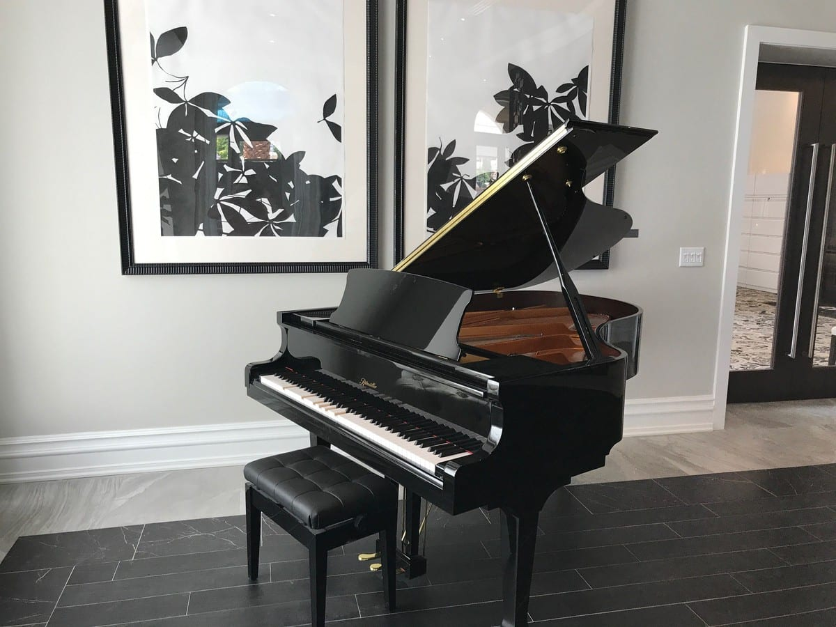 "A New Ritmüller 6'2"" Player Grand Piano Delivery In Tampa, FL"
