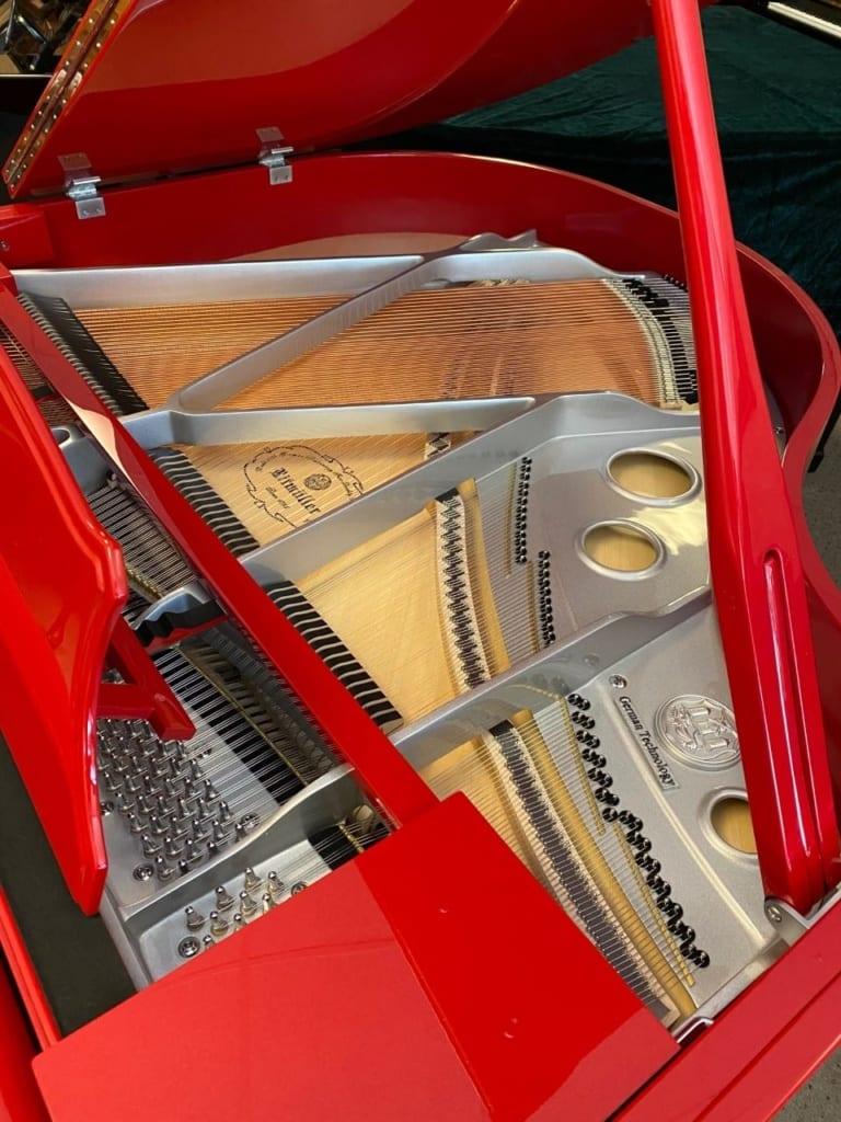 Ferrari Red - German Designed Ritmüller Baby Grand Piano - $14,990